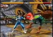 TEKKEN 5 Julia KYSG Sample Tekken Combos