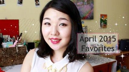 April 2015 Favorites | 4월 추천 제품