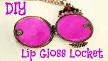 DIY Lip Gloss Locket!