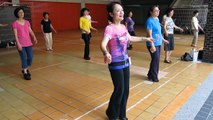 COUNTRY  ROCK'N ROLL WALTZ(Ingrind Kan & students)-Kan's line dance.mov