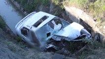 Otomobil Sulama Kanalına Düştü: 2 Ölü, 1 Yaralı