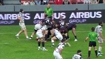 TOP14 - Toulouse - Brive : Essai Toby Flood (ST) - J24 - Saison 2014/2015