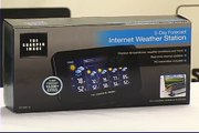 Sharper Image Internet Weather Station with 5 Day Weather Forecaster (Product Overview)