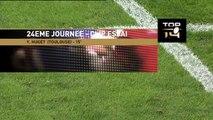 TOP14 - Toulouse - Brive : Essai 2 Yoann Huget (ST) - J24 - Saison 2014/2015