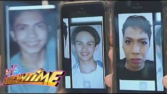 Billy, Vhong & Vice throwback pictures on Showtime