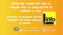 Reportage France info 09/05/15 : Interview de Géraldine Guilpain Présidente des Jeunes Radicaux de Gauche-JRG