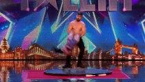 Les Roller Skaters ont chauffé le public de Britain's Got Talent et le jury a dit OUI !