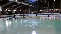 Programme libre Ragecou (Meudon) - 7ème en juniors - Championnat de France 2015 de ballet sur glace