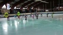Programme libre Les Arcs en Ciel (St Ouen) - 5ème en novices - Championnat de France 2015 de ballet sur glace
