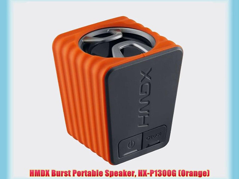 PORTABLE BLUETOOTH SPEAKER WITH NFC,PROLIX TOUCH CONTROL,BLACK//ORANGE