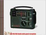C Crane Co COBS CC Solar Observer Wind Up Radio with AM FM Weather and built in LED Flashlight