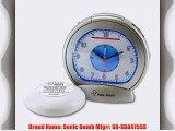 Sonic Bomb SA-SBA475SS Sonic Boom Analog Alarm Clock