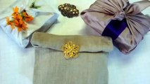 Simple, Quick Gift Wrap : Eco-Friendly & Reusable