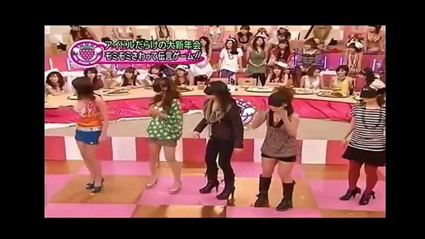 Funny Clip Gameshow Japanese Bịt mắt sờ ngực cực bựa | Godialy.com