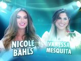 Programa Silvio Santos (10-05-2015) - Nicole Bahls e Vanessa Mesquita no Jogo das Três Pistas