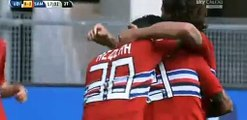 Silva goal Manchester City 6-0 QPR | Premier League 2015