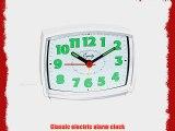 Equity 33101 Electric Analog Alarm Clock