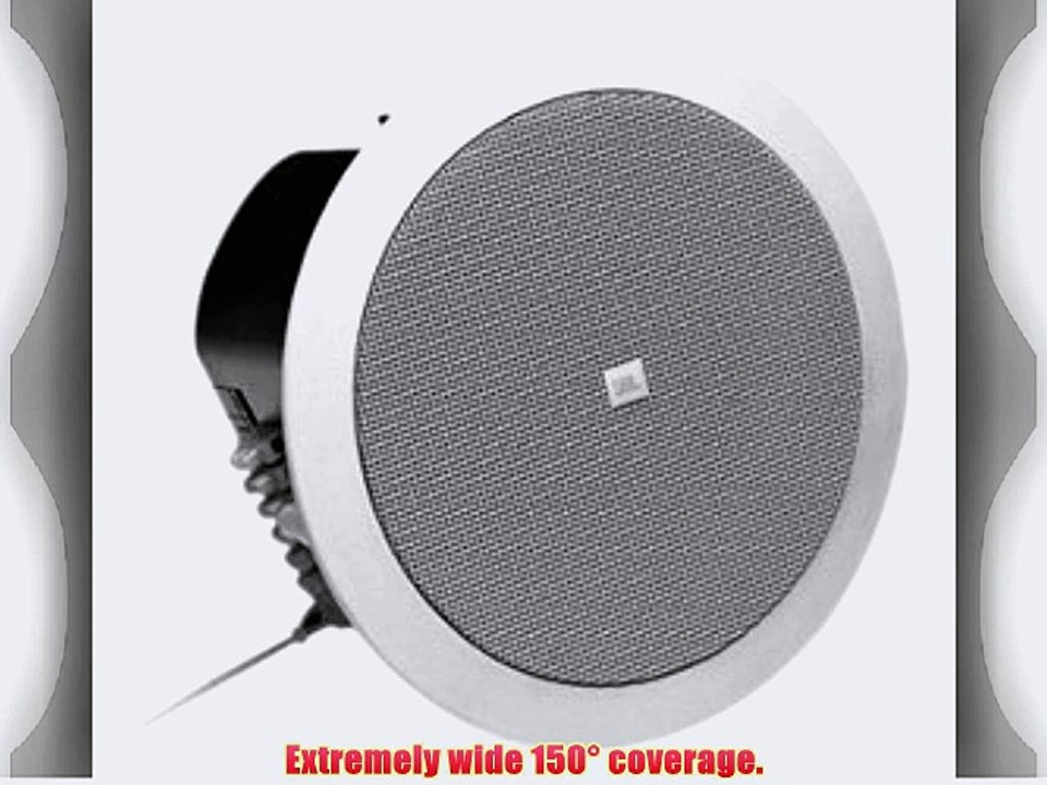 JBL Control 24CT Micro 2-Way Vented Ceiling Speaker Built-in Transformer on