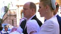 Les jumeaux princiers Jacques et Gabriella baptisés à Monaco