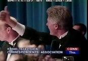 Bill Clinton with Darrell Hammond