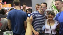 VIDEO. Tours : les joueurs du TVB fêtés à la foire