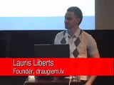 Lauris Liberts presentation at Global Forum