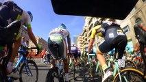 Giro d'Italia Stage 2 on board camera / Giro d'Italia Tappa 2 on board camera