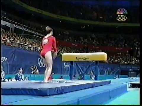Kristen Maloney - 2000 Sydney Olympics Women's Gymnastics Prelims - Vault
