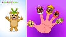 Finger Family (Bear Finger Family) Nursery Rhymes | Finger Family Songs | Top English Nursery Rhymes