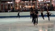 Exercice chorégraphique Extravaganza (Franconville) - Championnat de France 2015 de ballet sur glace
