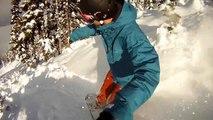 Snowboarding Powder on Blackcomb Mountain - GoPro Snowboarding