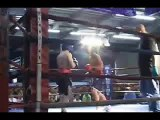 Referee Attacks Boxer in the Ring!