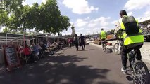 Balade en vélo le long des berges du canal de Saint-Denis et de la Seine - Partie 2