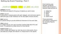 Google Analytics Education: Setting Up Event Tracking - Pt1