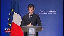 Lapsus Sarkozy confond l'Allemagne et l'Alsace