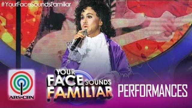"Your Face Sounds Familiar: Jolina Magdangal as Prince - ""Kiss"""