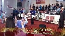 "ICC Worship Team ""Rez Power"" with lyrics (Israel Houghton)"