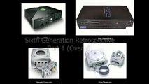 Sixth VideoGame Generation Recap - Sega Dreamcast, Playstation 2, Original Xbox, Nintendo Gamecube Adam Koralik