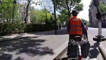 Balade en vélo le long des berges du canal de Saint-Denis et de la Seine - Partie 1
