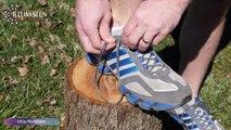 Empêchez vos lacets de se défaire en courant !