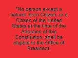 OBAMA vs BERG LAWSUIT Barack HUSSEIN Obama Refuses To Show