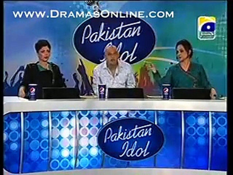 super insults in Pakistan Idol must watch