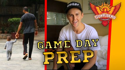 Countdown to the game. Find out how The Sunrisers prepare for a big game