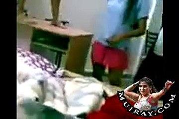 Indian Hostel Girls room alone Mujra Dance