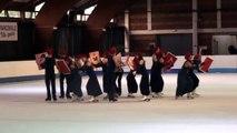 Programme libre Vertacomicoriens (Villard-de-Lans) - 1er en séniors - Championnat de France 2015 de ballet sur glace