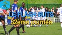 Championnat National 2014-2015 - 32ème journée - Les buts