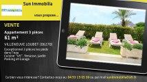 A vendre - Appartement - VILLENEUVE LOUBET (06270) - 3 pièces - 61m²