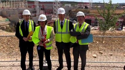 Projet ITER - Visite de Martine Vassal à Cadarache