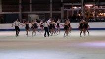 Programme libre Exotica (Colombes) - 2ème en séniors - Championnat de France 2015 de ballet sur glace