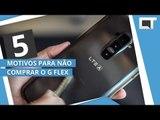 LG G FLEX: 5 motivos para NÃO COMPRAR [5 Motivos]